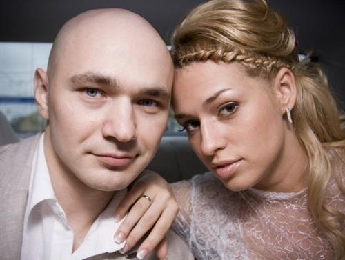 Лидер группы «Каста» Влади и его жена Виталия Господарик