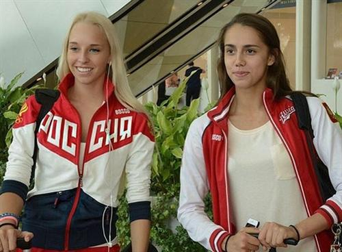 Яна Кудрявцева и Маргарита Мамун