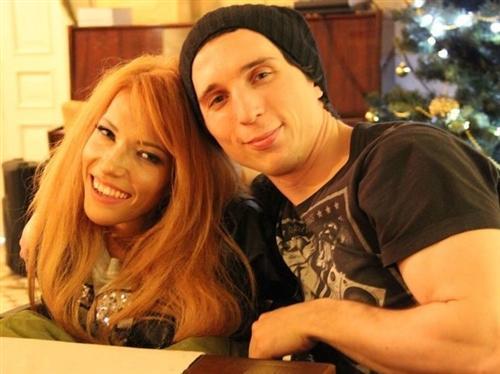 Певица Юлия Самойлова и её муж Алексей Таран