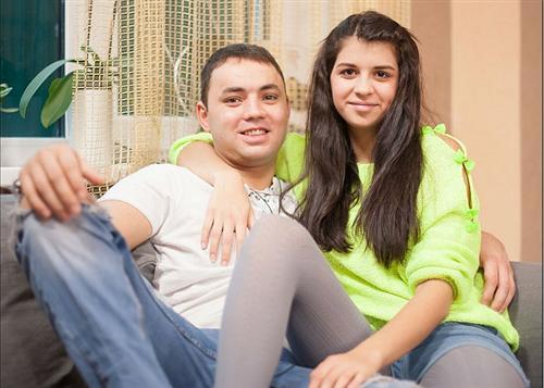 Алиана Устиненко с мужем Сашей Гобозовым