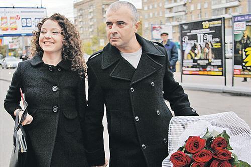 Артур Мартиросян с женой Валентиной Рубцовой