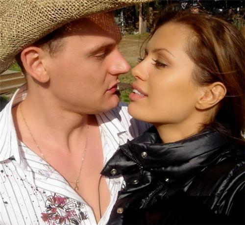 Виктория Боня и Степан Меньшиков