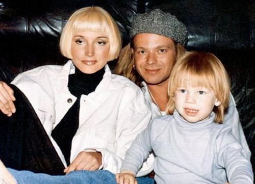 Владимир Пресняков с бывшей женой Кристиной Орбакайте и сыном Никитой
