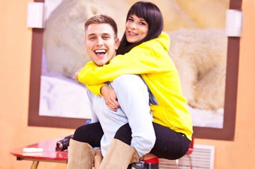 Катя Токарева и Юра Слободян