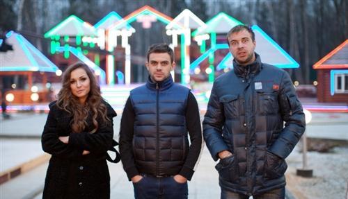 Игорь с Аленой Павловой и Богданом Ленчуком