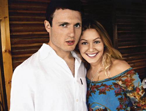 Мария Кожевникова с мужем Евгением Васильевым