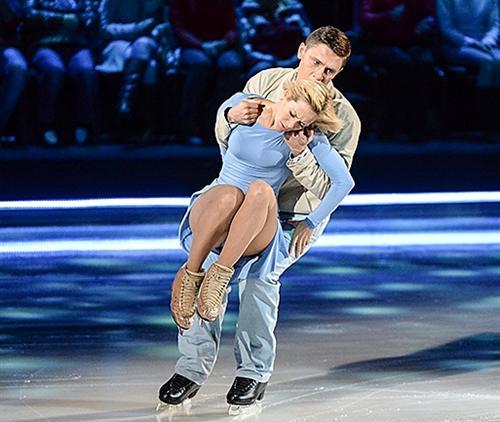 Тимур Батрутдинов на коньках (шоу Ледниковый период)