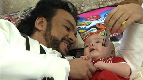 Филипп Киркоров с сыном Мартином