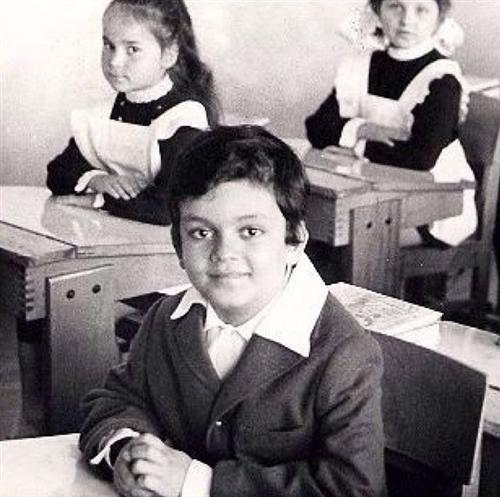 Филипп Киркоров в детстве и молодости (в школе)