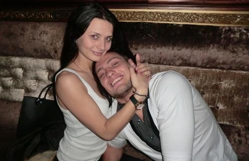 Александр Задойнов с Яной Рудовой