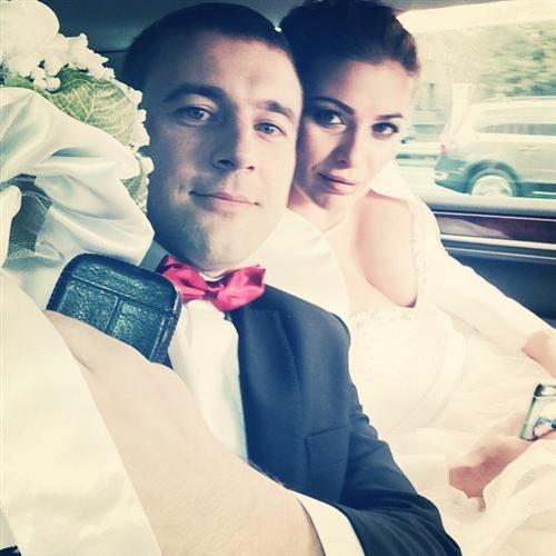 Алексей Адеев с супругой Натальей