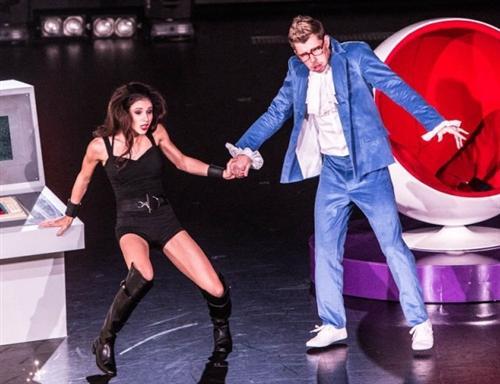 Танец Леши Королева со Снежаной Крюковой