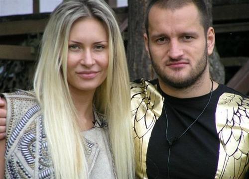 Лёша с Элиной Карякиной