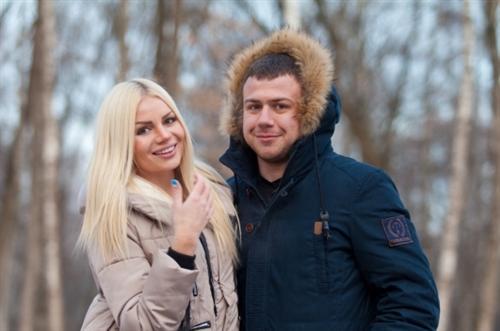 Алёна Вражевская и Валерий Блюменкранц