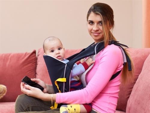 Алиана Гобозова с сыночком Робертом