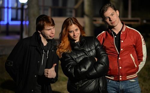 Анатолий Денеко, Таня Кирилюк и Илья Григоренко