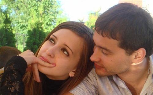 Андрей Черкасов с Маргаритой Агибаловой
