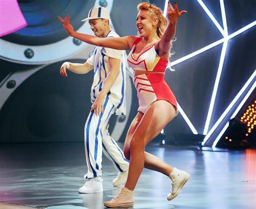 Танец Ани Тихой и Ильи Кленина