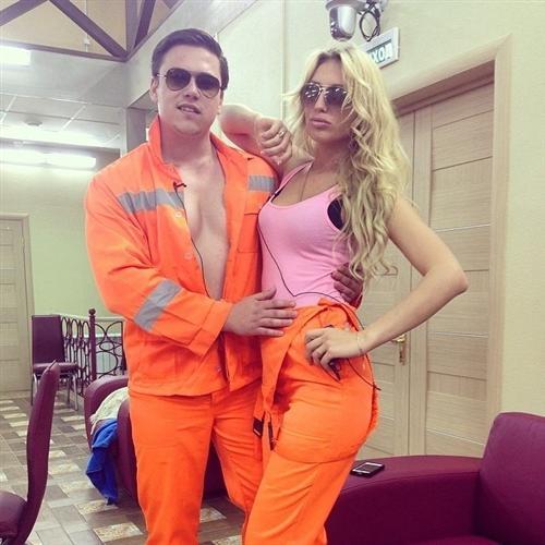 Вадим Горлов и Анна Кудимова