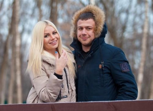 Валерий Блюменкранц с Алёной Вражевской