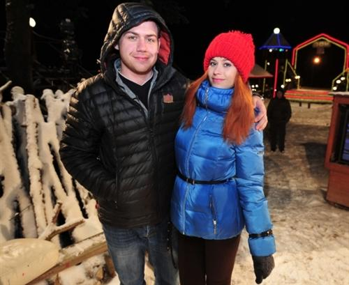 Валера Блюменкранц и Таня Кирилюк