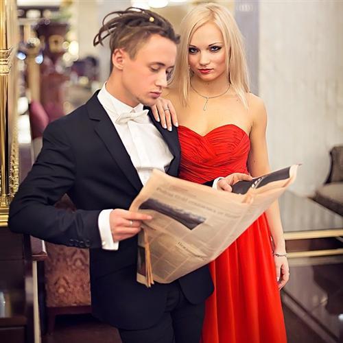 Виктория Сидельникова и Арсений Хорунжий