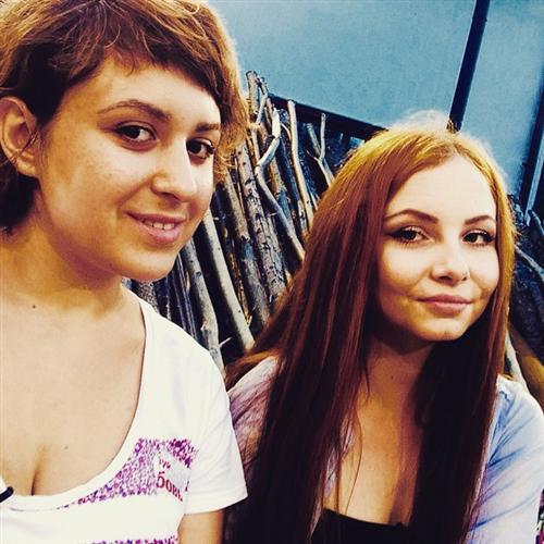 Дарья Матвиенко и Анна Белякова