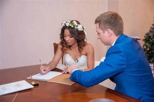 Свадьба Евгения Руднева с Либерж Кпадону