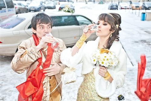 Свадьба Екатерины Токаревой и Венцеслава Венгржановского