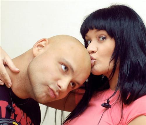 Лена Бушина с Семеном Фроловым