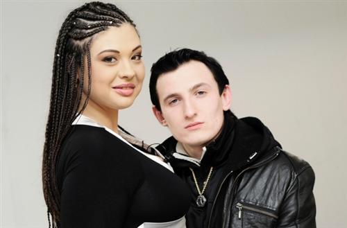 Инна Воловичева с Владом Кадони