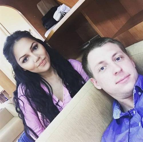 Камила Коробейникова и Женя Руднев