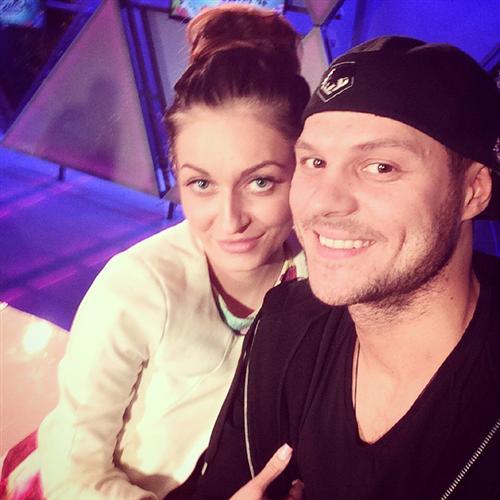 Максим Рожков с Кристиной Дерябиной