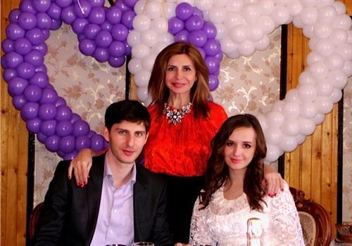 Павел и Маргарита Марсо (фото со свадьбы)