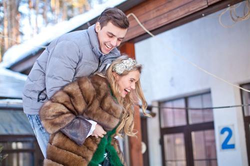 Марта Соболевская и Евгений Кузин