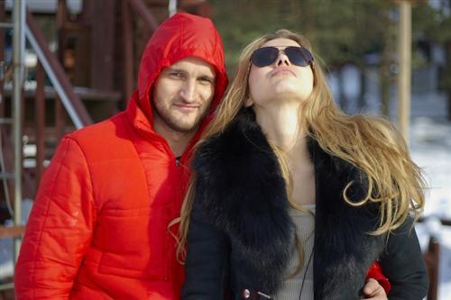 Марта Соболевская с Алексеем Самсоновым
