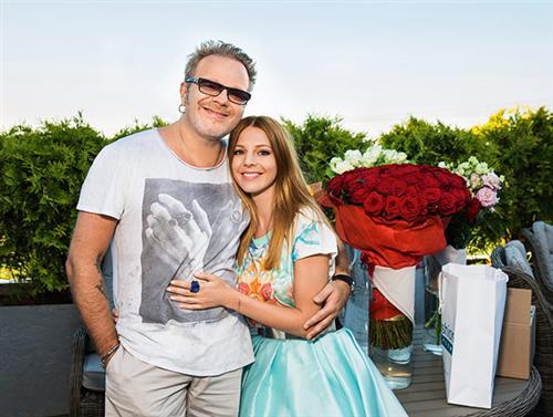 Наталья Подольская с мужем Владимиром Пресняковым