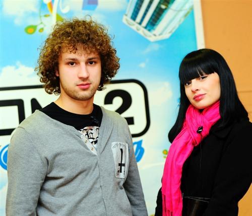Нелли Ермолаева с Никитой Кузнецовым