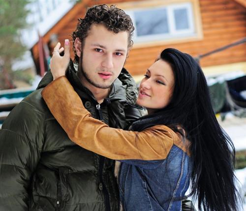 Никита Кузнецов с Женей Феофилактовой