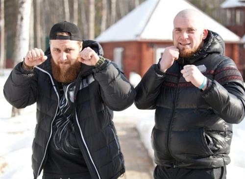 Олег Волк и Саша Моисеев