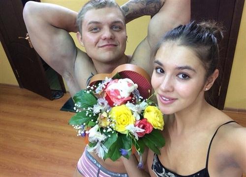 Оля Власова и Вадим Рыжов