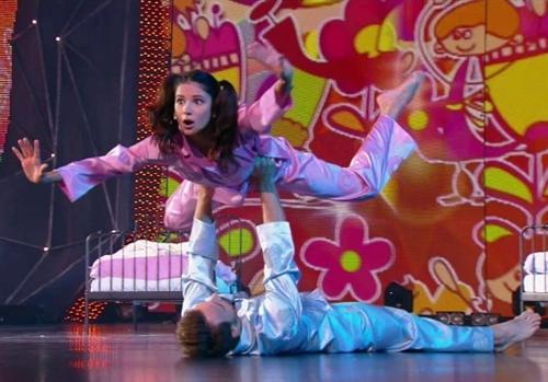 Танец Снежаны Крюковой и Михаила Евграфова