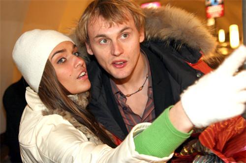Степа Меньшиков и Алена Водонаева