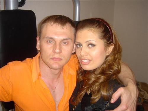 Степан Меньшиков с Викторией Боней