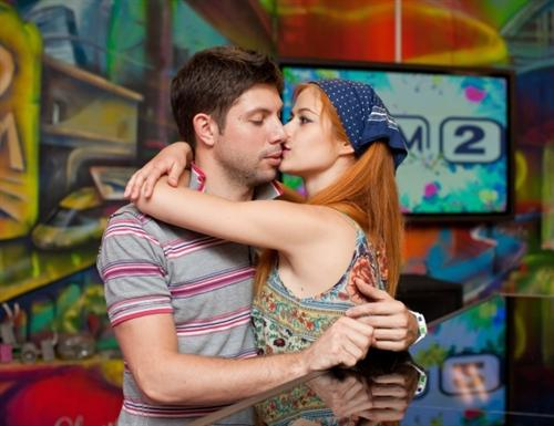 Таня Кирилюк и Саша Бовшик