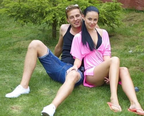 Таня Охулкова с Данилой Романовым