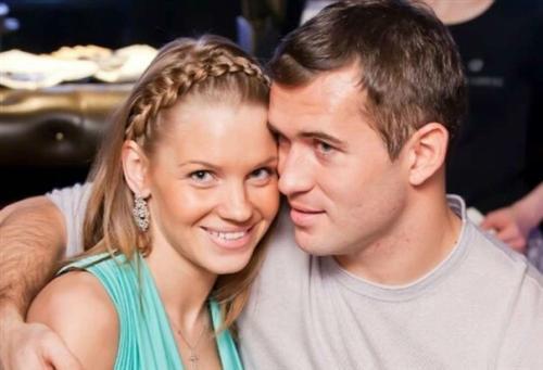 Александр Кержаков и Екатерина Сафронова