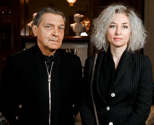 Александр Невзоров и его жена Лидия Невзорова