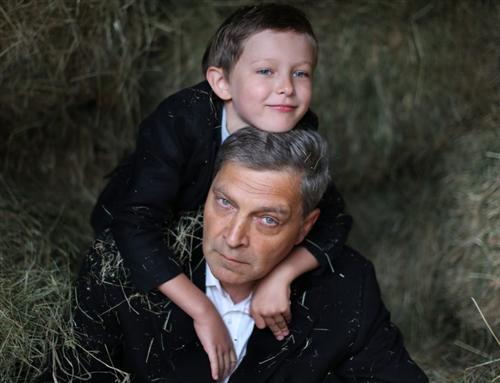 Александр Невзоров и его сын Александр Невзоров-младший