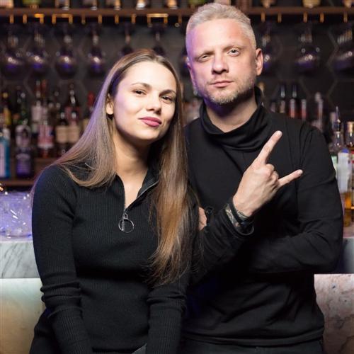 Александр Шаляпин и его жена Анастасия